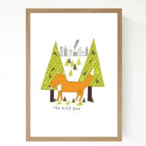 SEVENTY TREE - Seventy Tree, City Fox, A4