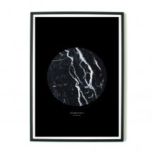 ABOUT GRAPHICS - About Graphics, Plakat Marbleous, 50x70 cm