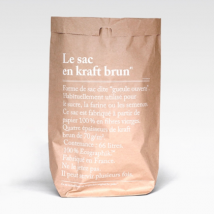 BE-POLES - Be-Poles, The Brown Paper Bag Le Sac en Kraft Brun, Opbevaringspose