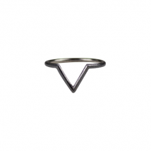 VERA VEGA  - Vera Vega, Open Willow Ring, Rhodium